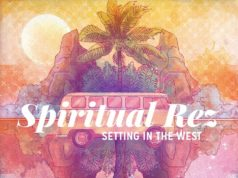 Spiritual Rez album cover artwork for Sitting in the West. Photo by: Spiritual Rez