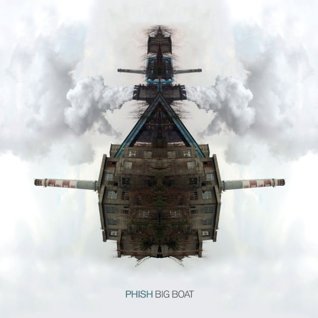 Phish, Big Boat album cover artwork. Photo by: Phish