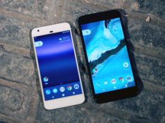 Google Pixel and Pixel XL smartphones by Android. Photo by: Author Maurizio Pesce / Wikimedia Commons
