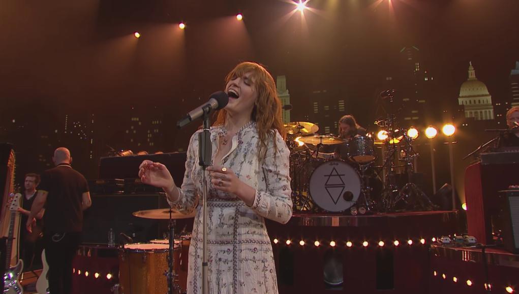 Florence + The Machine on Austin City Limits TV. Photo by: Austin City Limits / YouTube