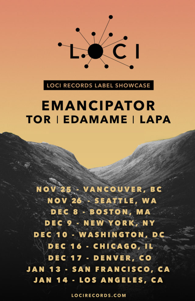 Emancipator and Loci Records Tour. Photo provided.
