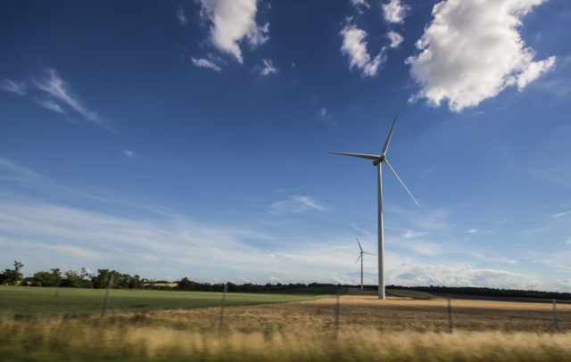 Wind power in a form of renewable energy. Photo by: musicFactory lehmannsound