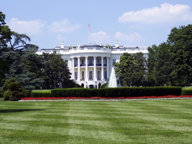 The White House. Photo by: Aaron Kittredge