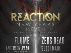 Reaction NYE 2016 at the Donald E. Stevens Convention Center in Rosemont, Illinois. Photo by: React Presents