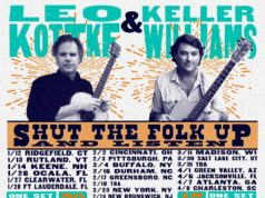 "Winter tour dates showcasing KW's newest project, ""Shut the Folk Up & Listen"" ft. Leo Kottke, Keller Williams. Photo by: Keller Williams"