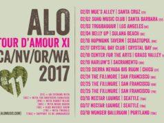 ALO TOUR D'AMOUR 2017 tour dates. Photo by: ALO