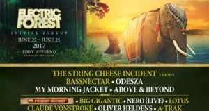 Electric Forest 2017 lineup featuring The String Cheese Incident, ODESZA, Bassnectar and more. Photo by: Electric Forest