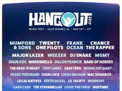 Hangout Music Festival 2017 lineup. Photo by: Hangout Music Festival