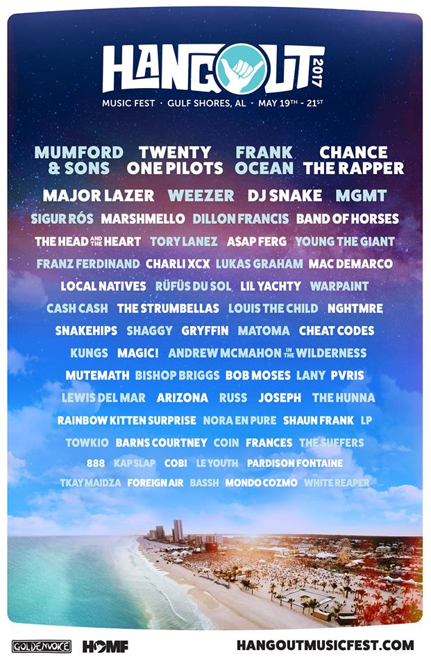 Hangout Music Festival 2017 Hosts Mumford And Sons Major Lazer