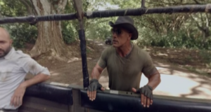 The Rock in Escape From Calypso Island. Photo by: The Rock / YouTube
