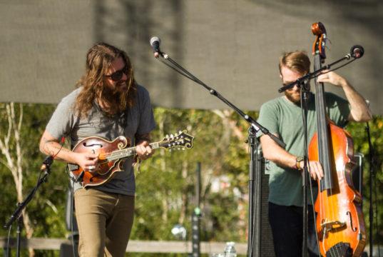 Greensky Bluegrass at Suwannee Hulaween 2016. Photo Matthew McGuire.
