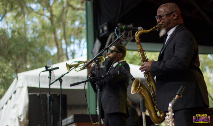 Karl Denson's Tiny Universe at Suwannee Hulaween 2016. Photo by: Matthew McGuire