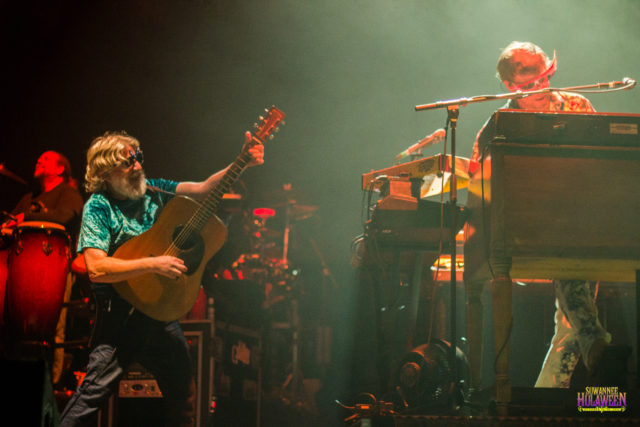 The String Cheese Incident at Suwannee Hulaween 2016. Photo by: Matthew McGuire