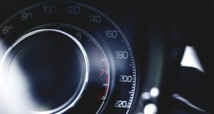 Speedometer in racecar. Photo by: Pexels.com / Tookapic.com