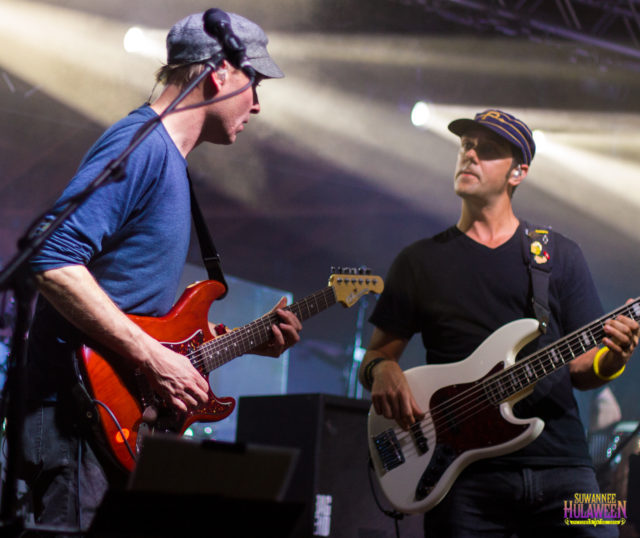 Umphrey's McGee at Suwannee Hulaween 2016. Photo by: Matthew McGuire