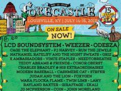 Forecastle Festival 2017 lineup. Photo by: Forecastle Music Festival