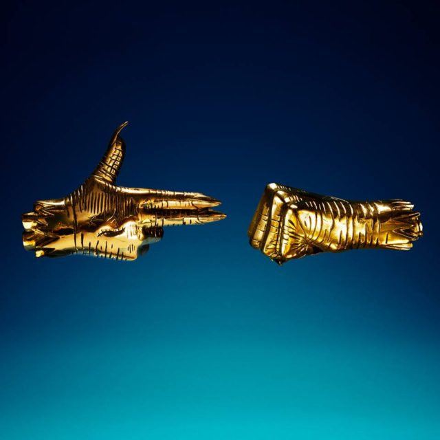 Run the Jewels cover artwork for RTJ3. Photo by: Run the Jewels