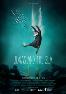 Poster image of Jonas and the Sea by Marlies Van der Wel, an official selection of the Shorts Programs at the 2017 Sundance Film Festival. © 2016 Sundance Institute.