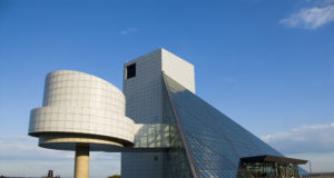 Hall of Fame wing side. Photo Copyright: The Rock & Roll Hall of Fame