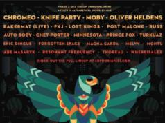 Euphoria Music Festival 2017 lineup. Photo by: Euphoria Music Festival