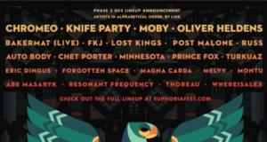 Euphoria Music Festival - Crescent Vale