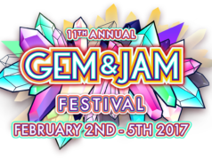 Gem and Jam Festival 2017 logo. Photo by: Gem and Jam Festival