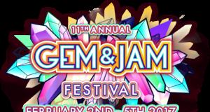 Gem and Jam Festival 2017 logo. Photo by: Gem and Jam Festival