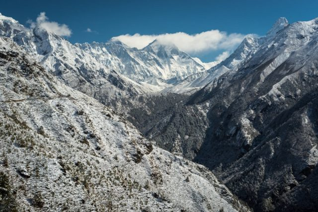 The Himalaya Mountains in Nepal. Photo by: Pexels.com
