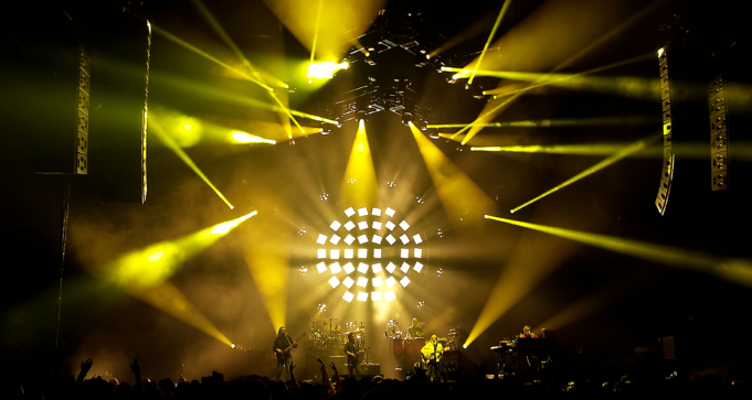 The String Cheese Incident from NYE 2016 run at the 1st Bank Center in Broomfield, Colorado, just outside of Denver, on December 29, 2016. Photo by: Matthew McGuire