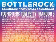BottleRock Napa Valley 2017 lineup. Photo by: BottleRock Napa Valley