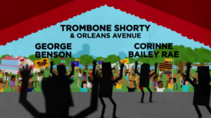 New Orleans Jazz and Heritage 2017 Jazz Fest lineup. Photo by: Jazz Fest / YouTube