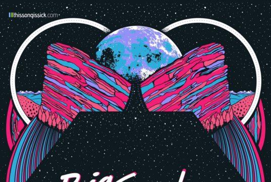 Big Gigantic Rowdytown VI poster. Photo by: ThisSongisSick.com / Red Rocks Amphitheatre
