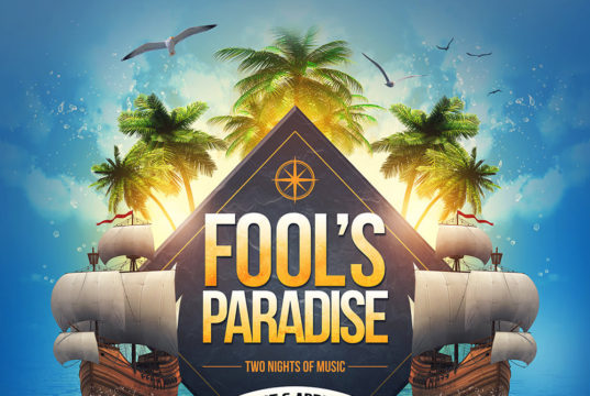 Fool's Paradise 2017 lineup. The music event will take place in St. Augustine, Florida. Photo provided.