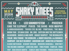 Shaky Knees Music Festival 2017 lineup. Photo provided.