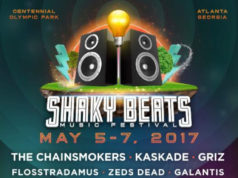 Shaky Beats Music Festival 2017 lineup. Photo provided.