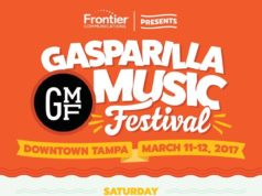 Gasparilla Music Festival 2017 lineup. Photo by: Gasparilla Music Festival / Twitter
