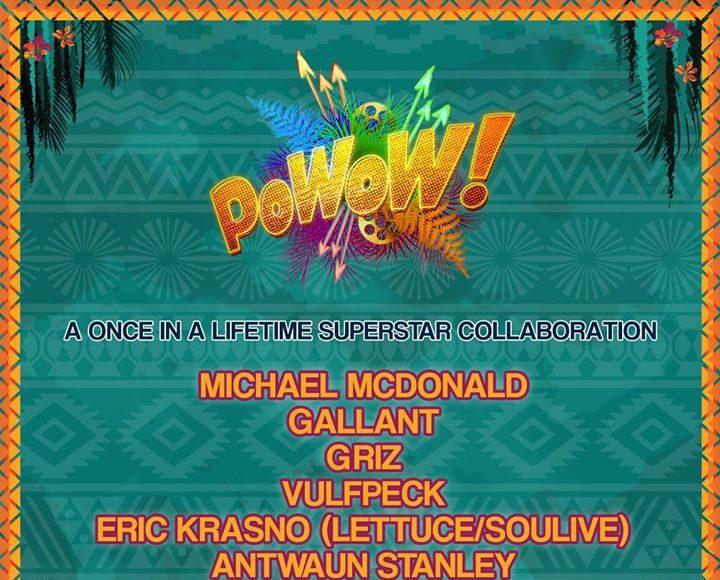 The Okeechobee Music and Arts Festival 2017 PoWow lineup. Photo provided.