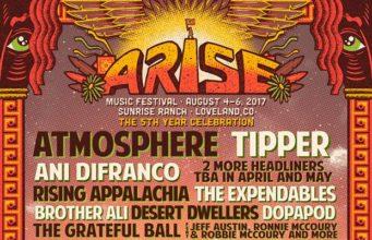 ARISE Music Festival 2017 lineup. Photo by: ARISE Music Festival