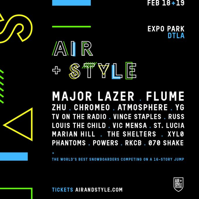 Air + Style Los Angeles. Photo by: Air + Style / Twitter