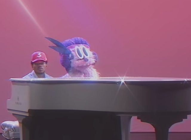 Chance the Rapper, 'Same Drugs' screenshot. Photo by Chance the Rapper / YouTube
