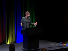 Mark Duplass, Talks at Google. Photo by Google / YouTube