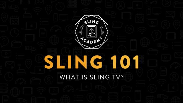 Sling TV screenshot. Photo by: Sling TV / YouTube