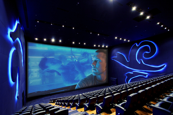 Inside an IMAX theater. Photo by: HKfotopoint / Wikimedia Commons