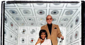 Whitney Houston with Clive Davis. Photo by: David LaChapelle 2000