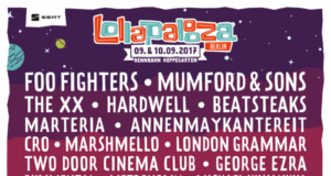 Lollapalooza Berlin 2017 lineup. Photo provided.