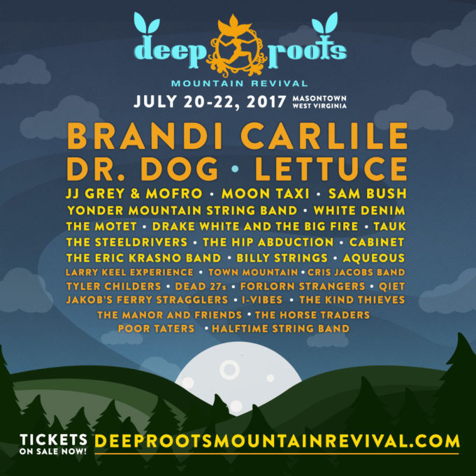 Deep Roots Mountain Revival 2017 lineup. Photo provided