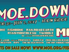 moe.down 2017 lineup featuring Blackberry Smoke, Fishbone, Twiddle and more in Turin, New York. Photo by: moe. / Twitter
