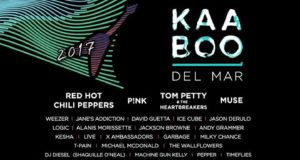 KAABOO Del Mar Music Festival 2017 lineup featuring Tom Petty, Muse, Pink and more. Photo by: KAABOO Del Mar Music Festival / Twitter