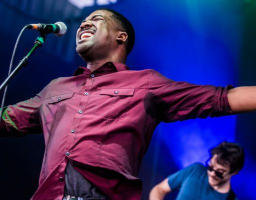 Antwaun Stanley, performing with Vulfpeck at Fool's Paradise 2017. Photo by: Jeremy Scott / Fool's Paradise