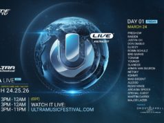 Ultra Music Festival 2017 day 1 schedule. Photo by: Ultra Music Festival / Twitter